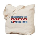 Somebody in Ohio Loves Me Tote Bag
