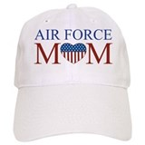 Patriotic Air Force Mom Baseball Cap