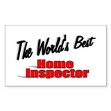 """The World's Best Home Inspector"" Decal"