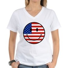 Patriotic Smiley Face Shirt