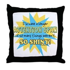 Attention Span Throw Pillow