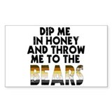 Honey Rectangle Decal