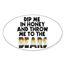 Honey Oval Decal