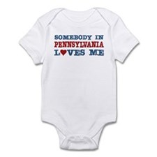 Somebody in Pennsylvania Loves Me Infant Bodysuit