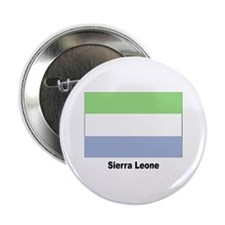 Sierra Leone Flag Button