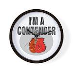 I'm A Contender Wall Clock