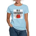 I'm A Contender Women's Pink T-Shirt