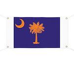 Orange and Purple SC Flag Banner