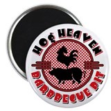 Hog Heaven BBQ Pit Magnet