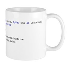"Visual Basic Mug ""Drink_From_Mug()"""