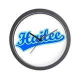 Retro Hailee (Blue) Wall Clock