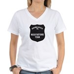 VA Beach Negotiator Women's V-Neck T-Shirt