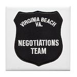 VA Beach Negotiator Tile Coaster