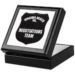 VA Beach Negotiator Keepsake Box
