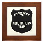VA Beach Negotiator Framed Tile