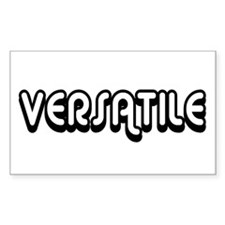 Versatile Rectangle Decal