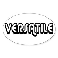 Versatile Oval Decal