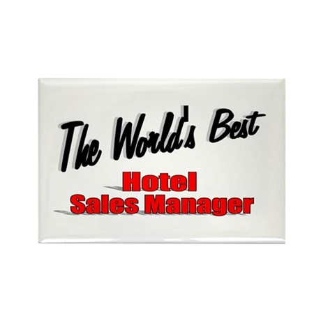 &quot;The World's Best Hotel Sales Manager&quot; Rectangle M