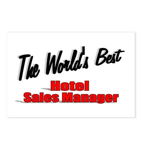 &quot;The World's Best Hotel Sales Manager&quot; Postcards (