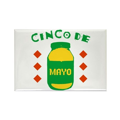 Cinco De Mayo Rectangle Magnet