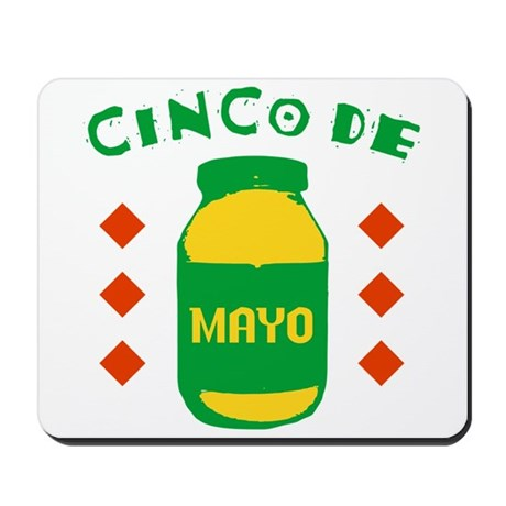 Cinco De Mayo Mousepad