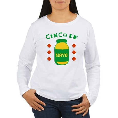 Cinco De Mayo Womens Long Sleeve T-Shirt