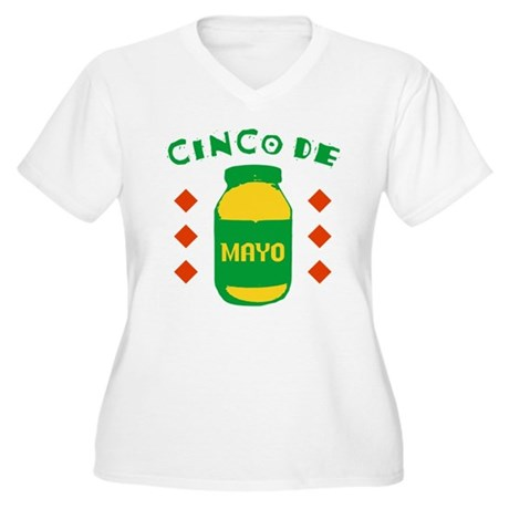 Cinco De Mayo Plus Size V-Neck Shirt