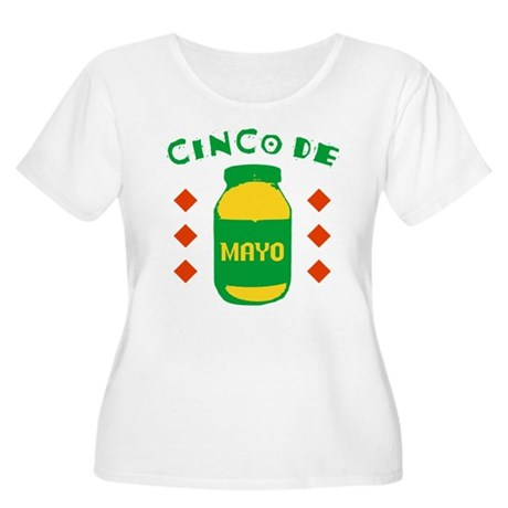 Cinco De Mayo Plus Size Scoop Neck Shirt