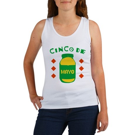 Cinco De Mayo Womens Tank Top