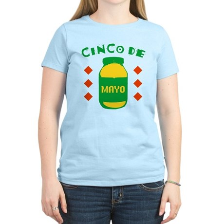 Cinco De Mayo Womens Light T-Shirt