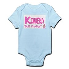"""Golf Prodigy"" Clothing Infant Bodysuit"