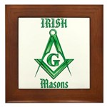 The Irish Masons Framed Tile