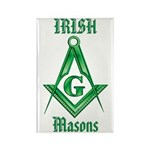 The Irish Masons Rectangle Magnet