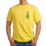 The Irish Masons Yellow T-Shirt