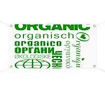 Organic, Organisch, Organico Banner