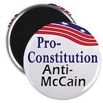Pro-Constitution Anti-McCain Magnet