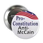 Pro-Constitution Anti-McCain Button