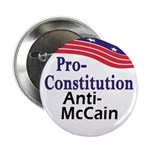Constitution McCain Buttons (10 pack)