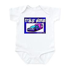 Trailer Woman Infant Creeper