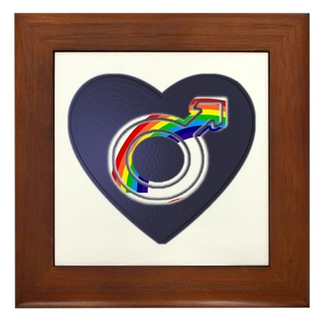 Gay/Bi - Framed Tile