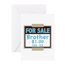 For Sale Brother $1 As Is Greeting Cards (Pk of 10