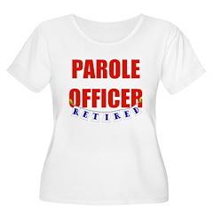 Retired Parole Officer Women's Plus Size Scoop Nec