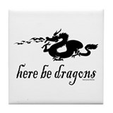 Dragons 3 Tile Coaster