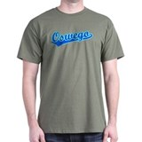 Retro Oswego (Blue) T-Shirt
