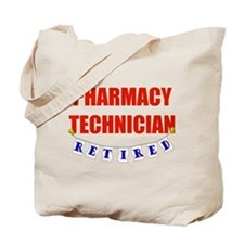 Retired Pharmacy Technician Tote Bag