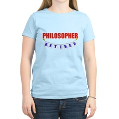 Retired Philosopher Women's Light T-Shirt