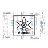 ATHEIST RETRO Postcards (Package of 8)