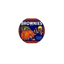 Brownies Brand Mini Button