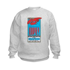Live Lobster Sweatshirt
