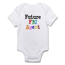 FBI Agent Infant Bodysuit